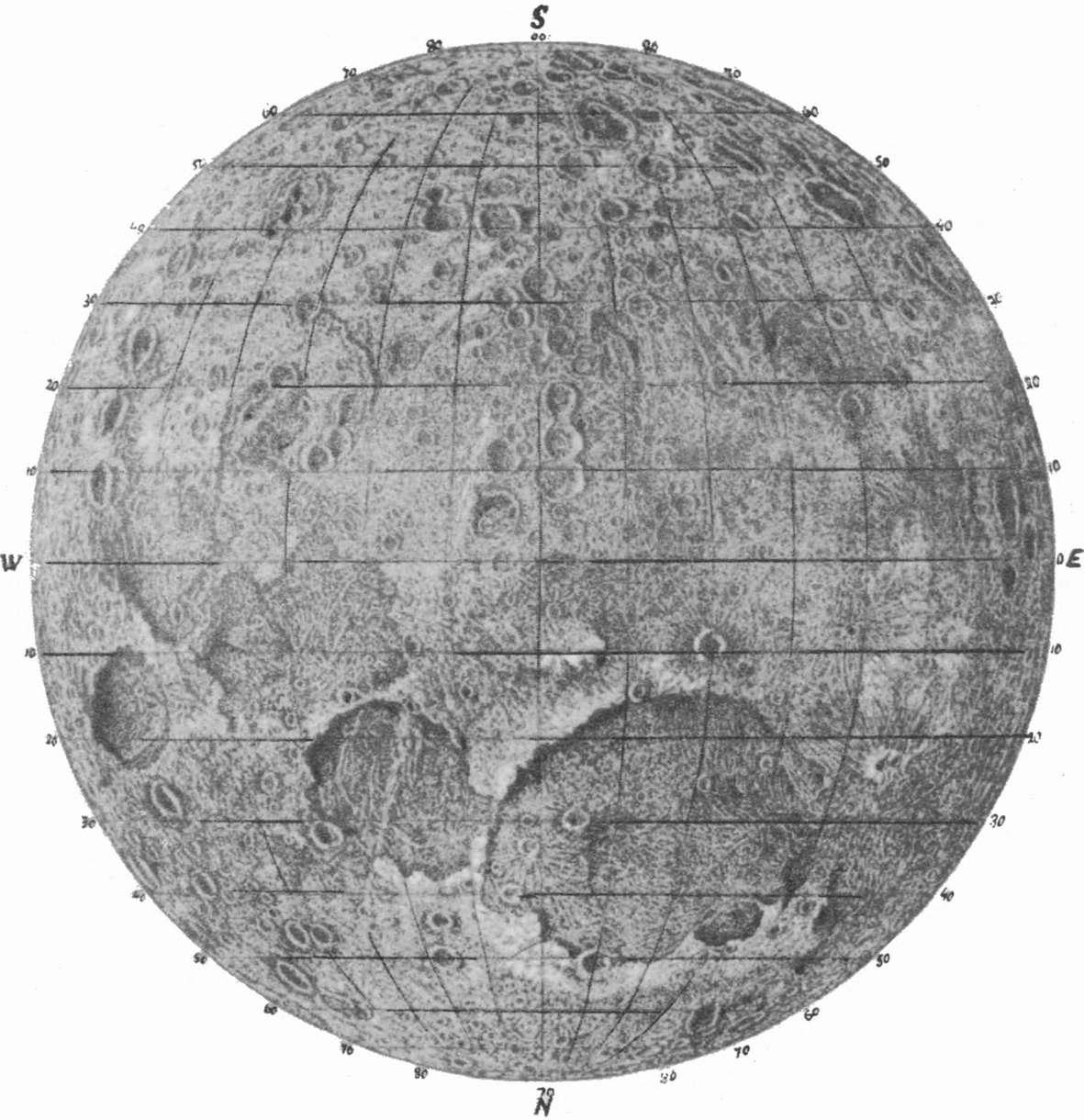 Исчезнувшая цивилизация на Луне
